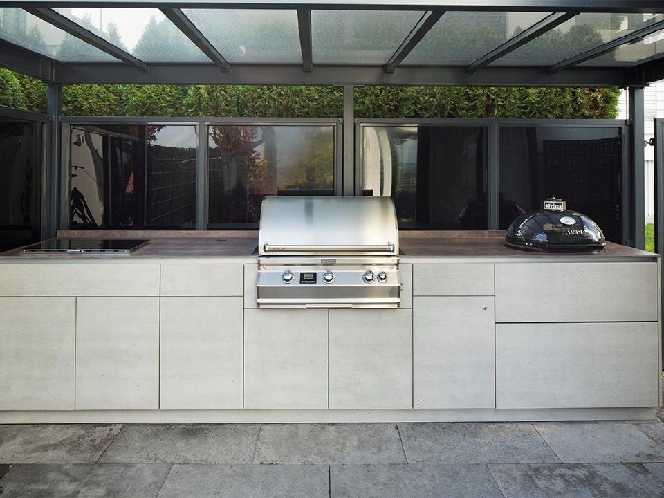 Outdoor Küche Landhausstil : Küchen